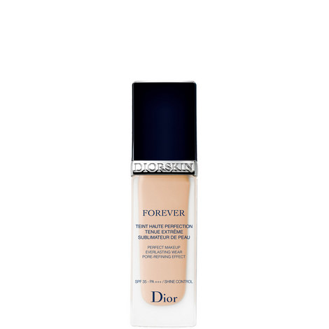 diorskin forever perfect makeup longwear pore refining effect spf 35 pa shine control. Black Bedroom Furniture Sets. Home Design Ideas