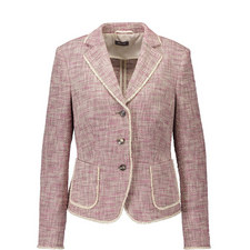 Tailored Tweed Blazer