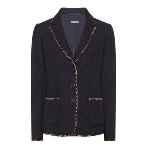 Virgin Wool Jacket, ${color}
