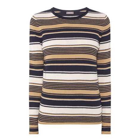 Multi-Stripe Sweater, ${color}