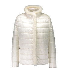 Faux Fur Trim Padded Jacket