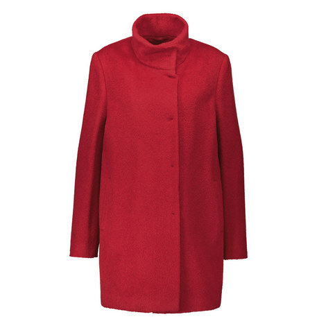 Funnel Neck Coat, ${color}