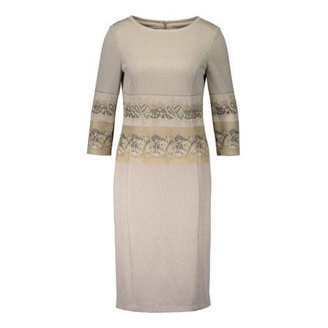 Lurex Tailored Dress, ${color}