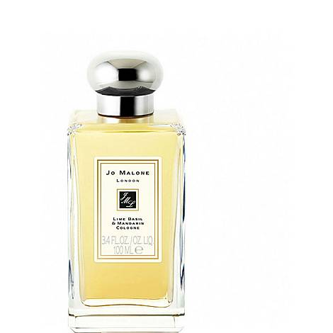 Lime Basil & Mandarin Cologne 100ml, ${color}
