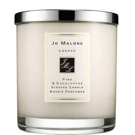 Pine & Eucalyptus Luxury Candle, ${color}