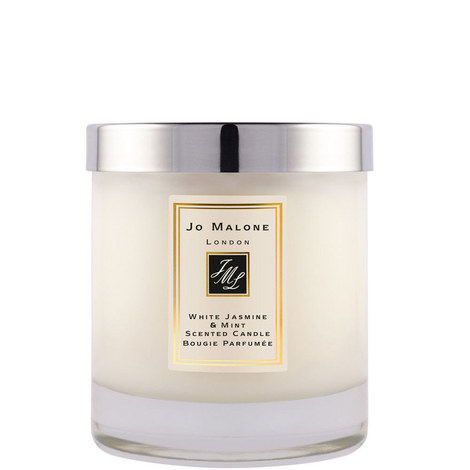 White Jasmine & Mint Home Candle 200g, ${color}