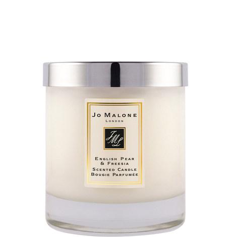 English Pear & Freesia Home Candle 200g, ${color}