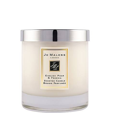 English Pear & Freesia Home Candle 200g, ${color}