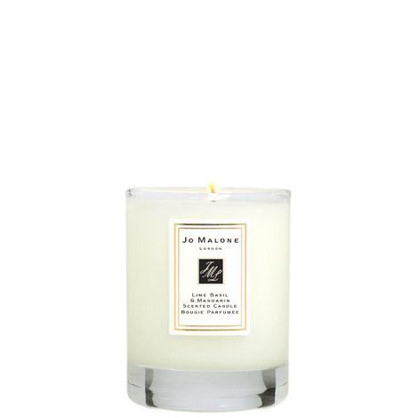 Lime Basil & Mandarin Travel Candle 60g, ${color}