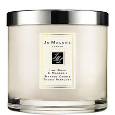 Lime Basil & Mandarin Deluxe Candle 600g
