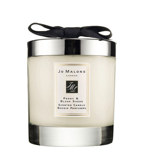 Peony & Blush Suede Home Candle 200g, ${color}