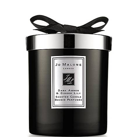 Dark Amber & Ginger Lily Home Candle 200g, ${color}