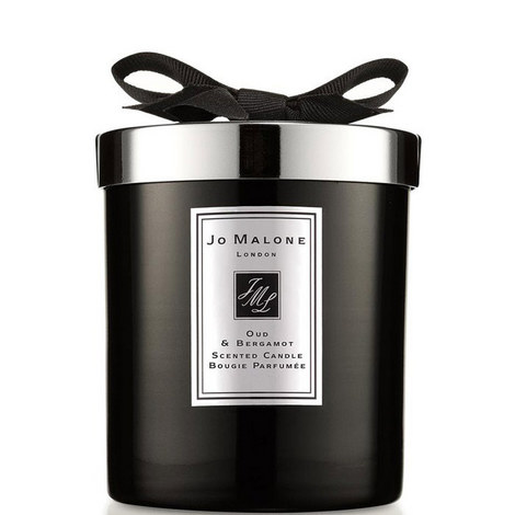 Oud & Bergamot Home Candle 200g, ${color}