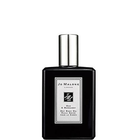 Oud & Bergamot Dry Body Oil 100ml, ${color}
