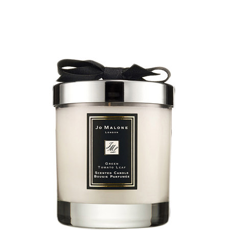 Green Tomato Leaf Home Candle 200g, ${color}