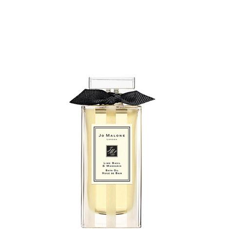 Lime Basil & Mandarin Bath Oil 30ml, ${color}