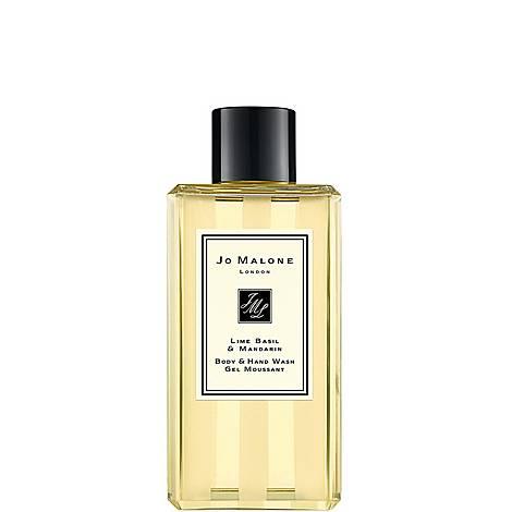 Lime Basil & Mandarin Body & Hand Wash, ${color}