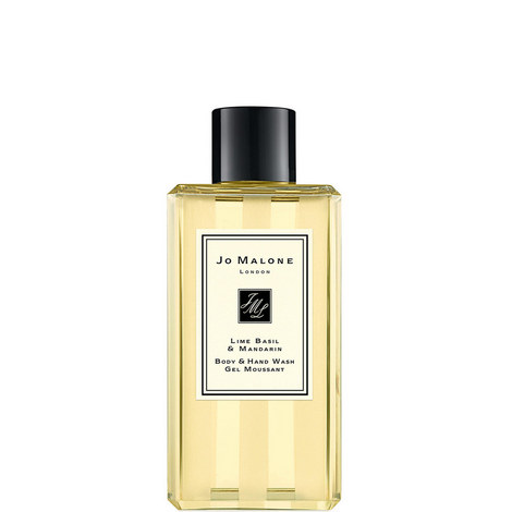 Lime Basil & Mandarin Body & Hand Wash 100ml, ${color}