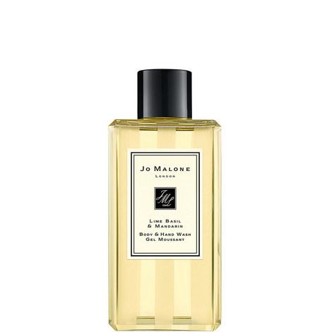 Lime Basil & Mandarin Body & Hand Wash 100ml, ${color}