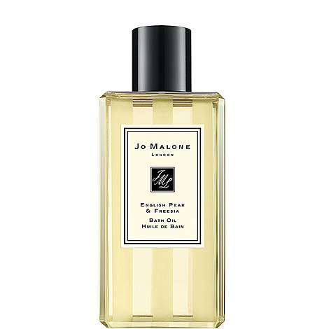 English Pear & Freesia Bath Oil 250ml, ${color}