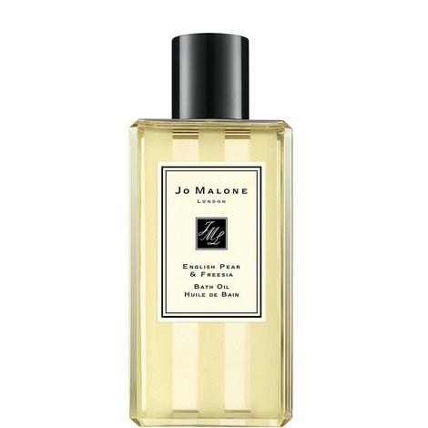 English Pear & Freesia Bath Oil 250ml, ${color}