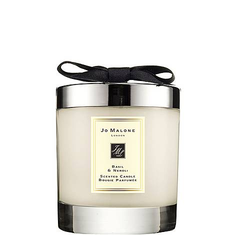 Basil & Neroli Home Candle, ${color}