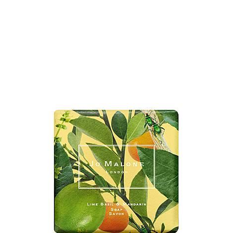 Lime Basil & Mandarin Bath Soap 100G, ${color}