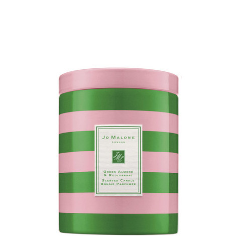 Green Almond & Redcurrant Christmas Candle, ${color}