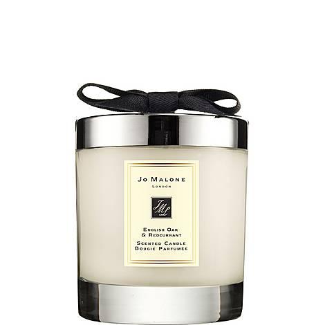 English Oak & Redcurrant Home Candle, ${color}