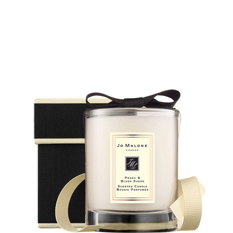 Peony & Blush Suede Travel Candle, ${color}