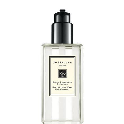 Black Cedarwood & Juniper Body & Hand Wash 250ml, ${color}