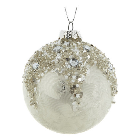 Beaded Damask Bauble, ${color}
