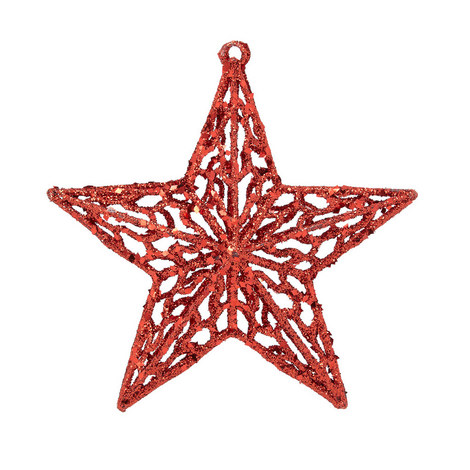 Glitter Filigree Star, ${color}