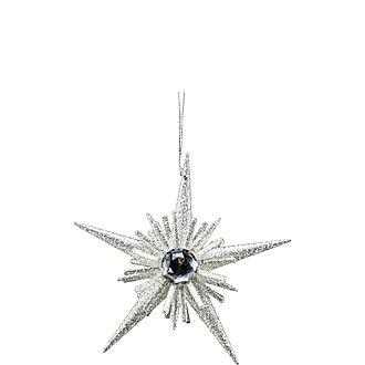 Glitter Star Burst Decoration