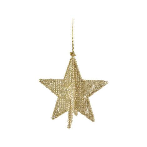 3D Five Point Star Ornament, ${color}