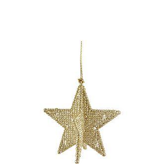 3-D Five-Point Star Decoration