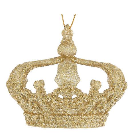 Glitter Crown Hanging Decoration, ${color}