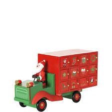 Santa Lorry Advent Calender