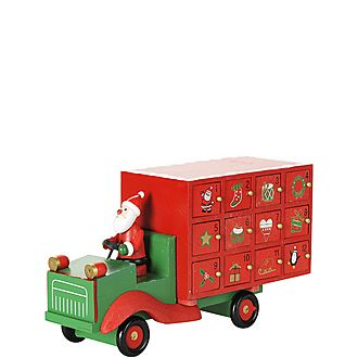 Santa Lorry Advent Calender