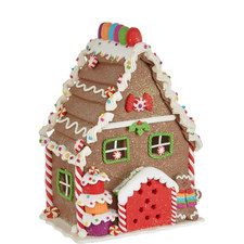 Light-Up Gingerbread House