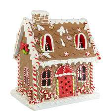 Light-Up Gingerbread House Large