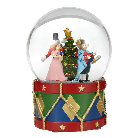 Nutcracker Musical Snow Globe, ${color}