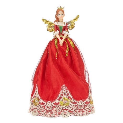 Nutracker Fairy Tree Ornament, ${color}