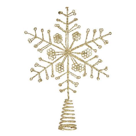 Glitter Star Tree Topper, ${color}