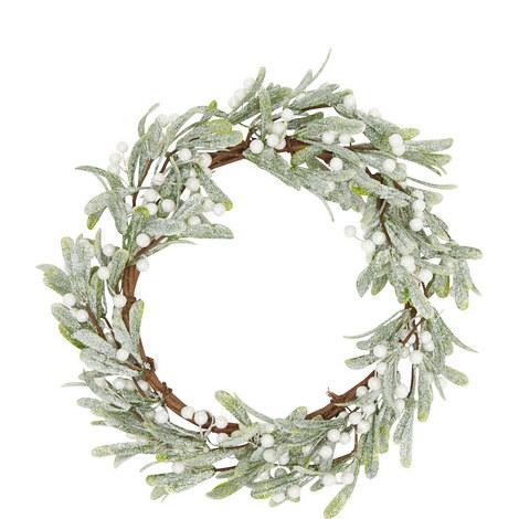 Glitter Berry Wreath, ${color}