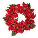 Poinsettia Wreath, ${color}