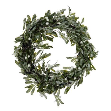Mistletoe LED Wreath, ${color}