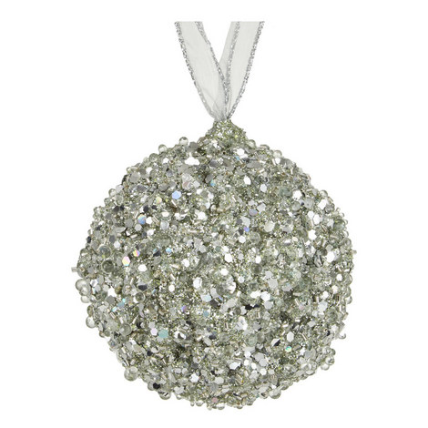 Glitter Ball Hanging Tree Decoration, ${color}