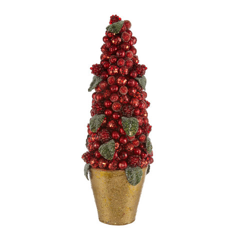 Topiary Berry Tree Decoration, ${color}