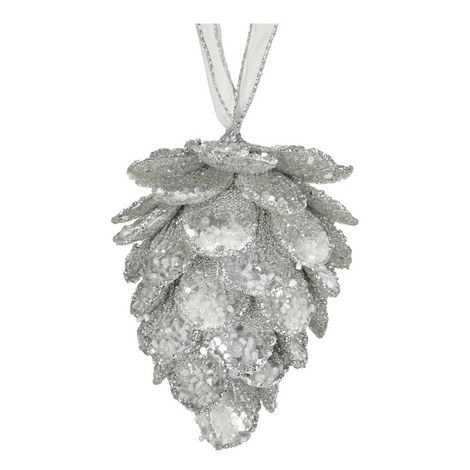 Pine Cone Hanging Tree Decoration, ${color}